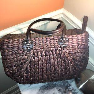 Wicker Handmade Bag.